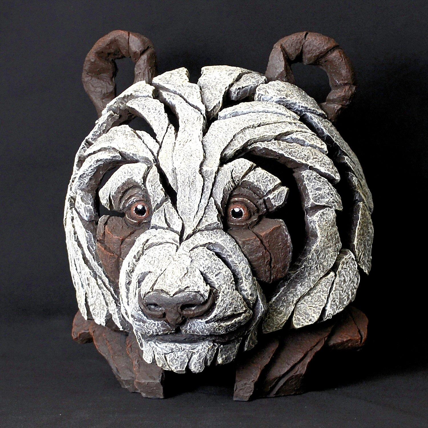 Panda Bust - Brown and White EDB08B EDGE by Matt Buckley