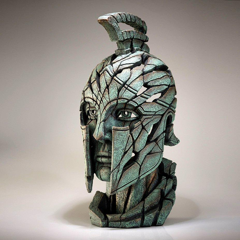 Spartan Bust - Verdi Gris EDB20 EDGE by Matt Buckley