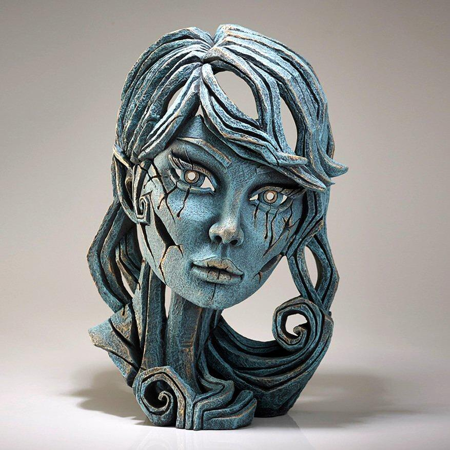 Wood Elf Bust - Aqua EDB19A EDGE by Matt Buckley