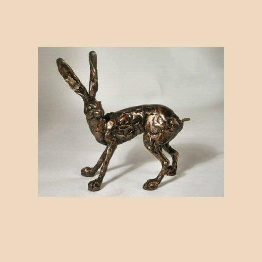 Hare Standing (PJ020) by Paul Jenkins