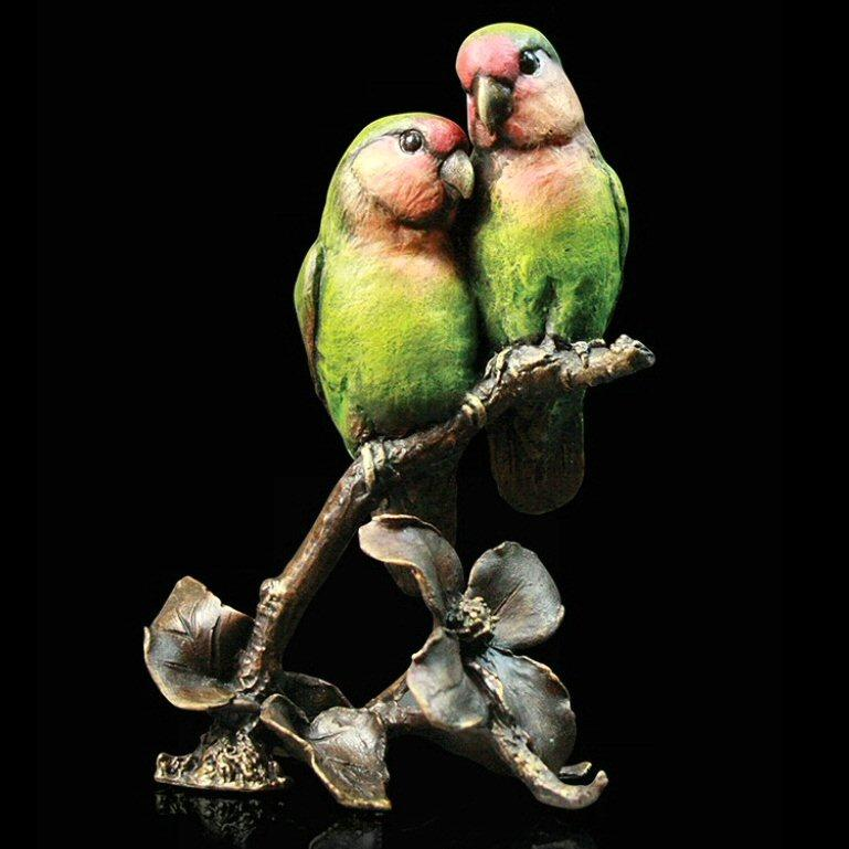 Lovebirds (970) - by Keith Sherwin