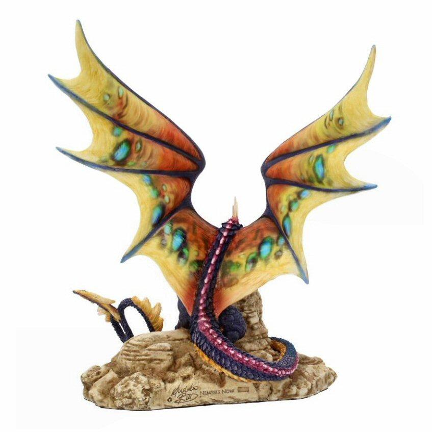 Khamseen - Dragon Figurine - Nemesis Now B4007K8