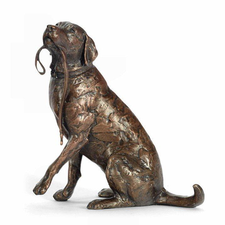 Anticipation - Dog Sculpture by Michael Simpson - DeMontfort SSIP007