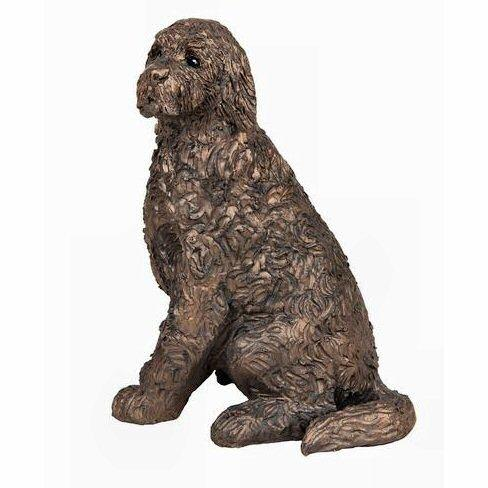 Jessie the Cockapoo - Bronze Dog Sculpture - Paul Jenkins S205