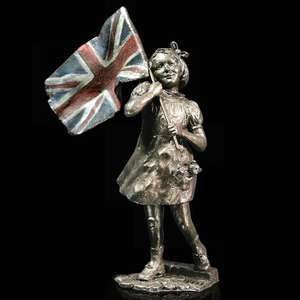 Peace! - Bronze VE Day Remembrance Sculpture - Michael Simpson - 1113
