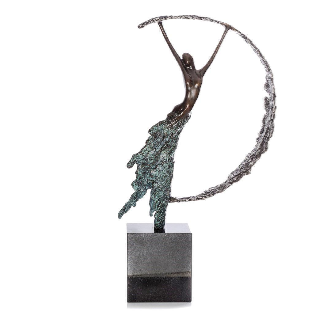 Moonlight - Bronze Sculpture by Jennine Parker - DeMontfort SPAK021