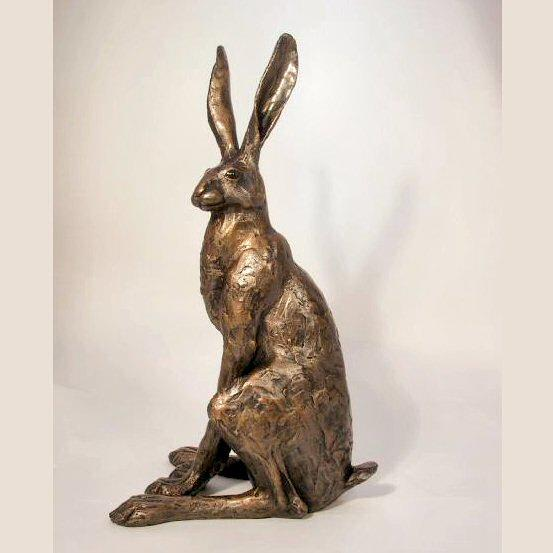 Sitting Hare - Large (SA001) by Paul Jenkins