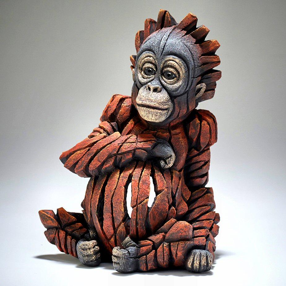 Baby Orangutan - EDGE Sculpture ED28