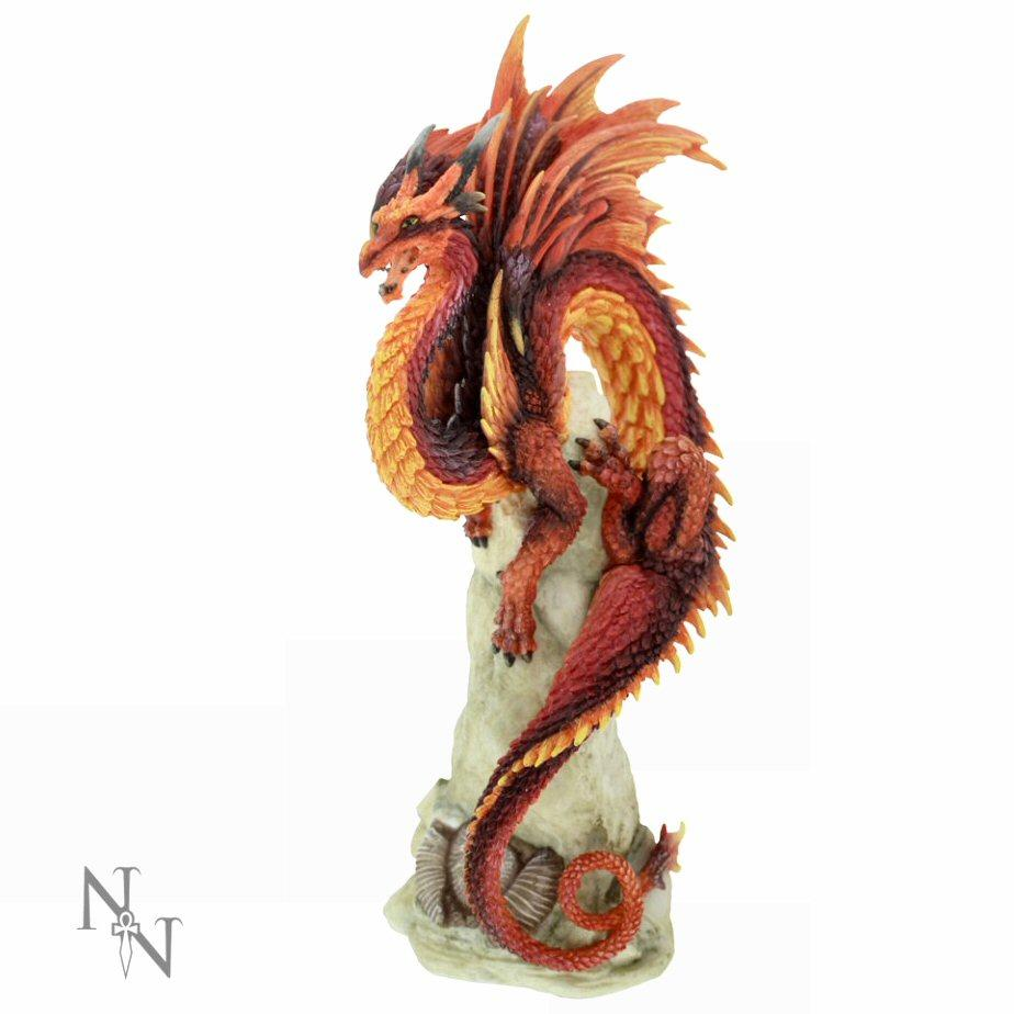 Ruby Sentinel - Dragon Figure by Andrew Bill - Nemesis Now B1946F6