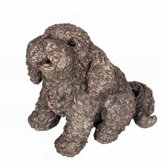 Frankie the Cockapoo - Bronze Dog Sculpture - Adrian Tinsley AT042