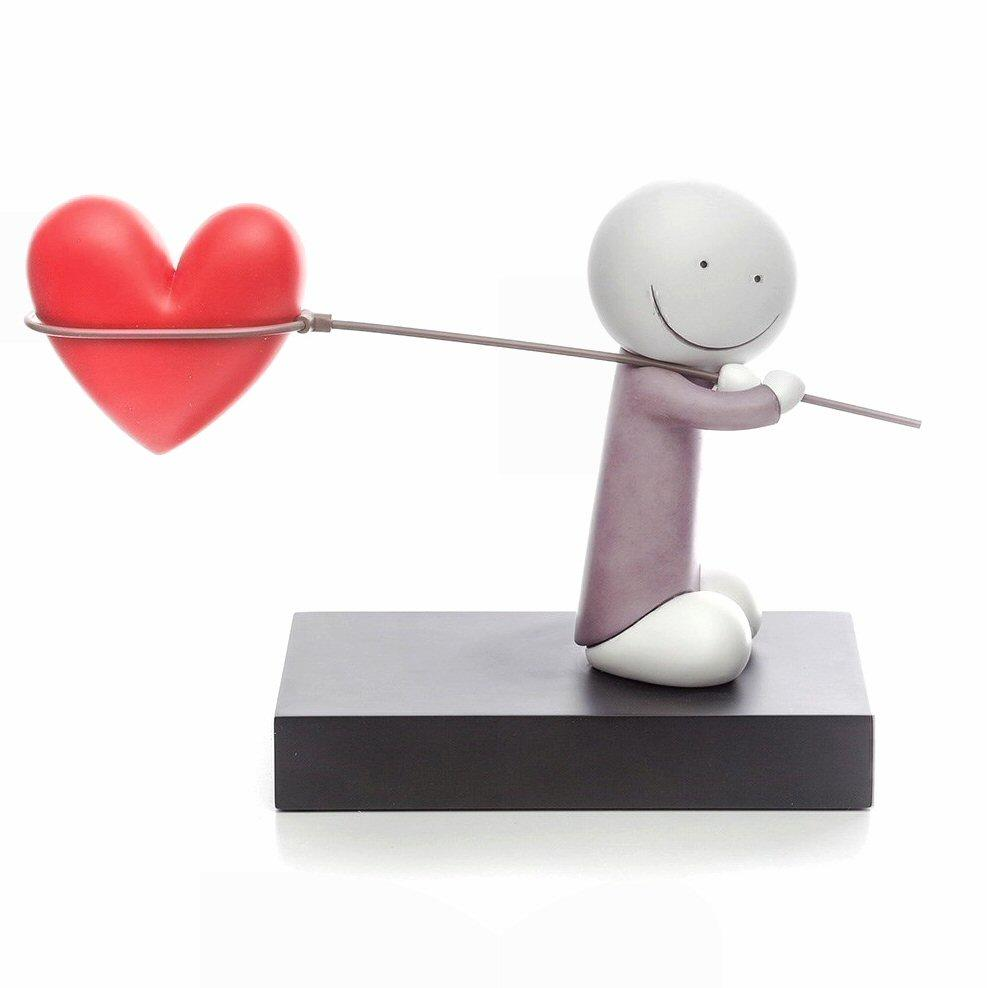 Caught Up In Love - Sculpture by Doug Hyde - DeMontfort SHYD272