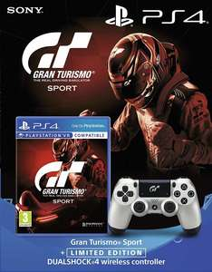 Gran Turismo Sport + Limited Edition Dualshock 4 Wireless Controller