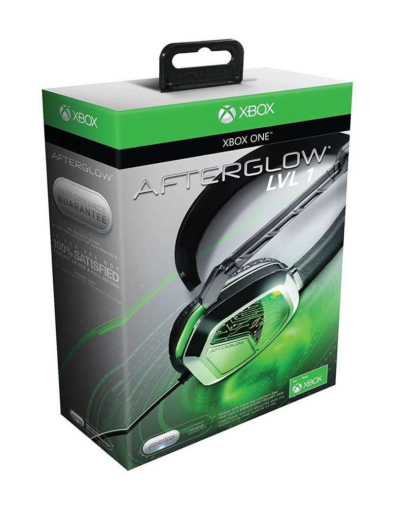 PDP Xbox One Afterglow LVL 1 Chat Headset - Black