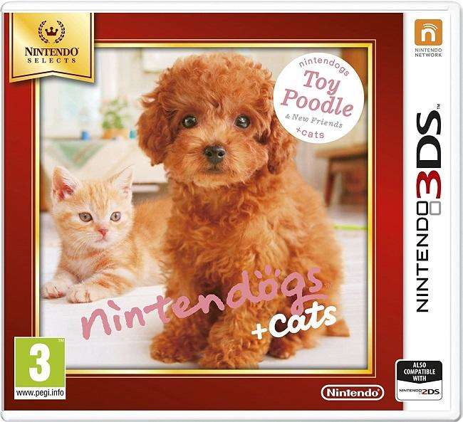 Nintendo Selects - Nintendogs + Cats : Toy Poodle & New Friends