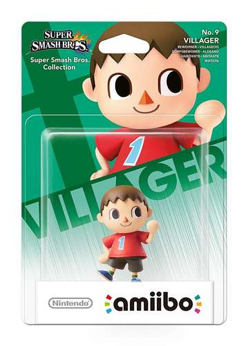 villager no. 9 amiibo