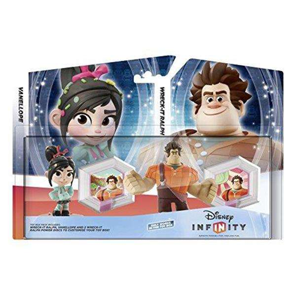 disney infinity wreck-It ralph toy box set