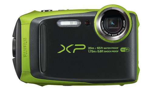 Fujifilm FinePix XP120 - Lime Green
