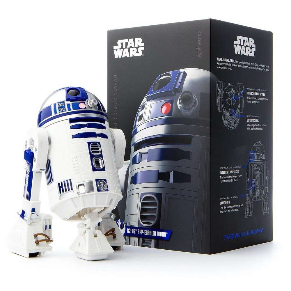 r2-d2 app enabled robot