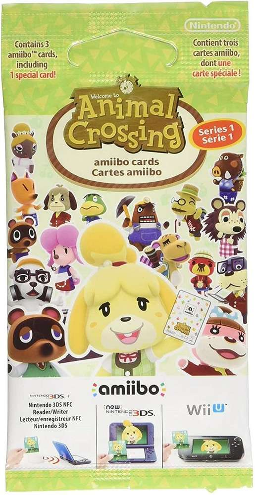 Animal Crossing: Happy Home Designer amiibo Cards Pack