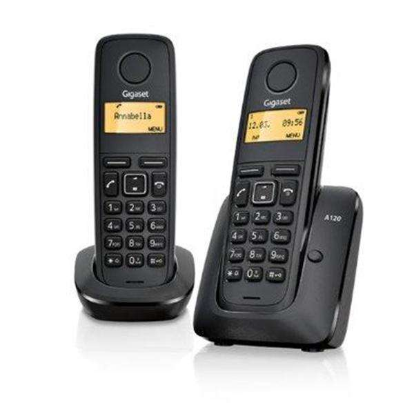 Gigaset A120 Twin DECT Cordless Phone Set