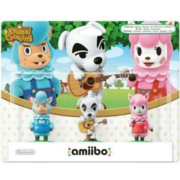 animal crossing collection amiibo - 3 Pack