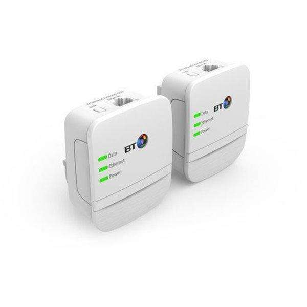 BT Broadband Extender 600 Kit with Wired AV600 Powerline