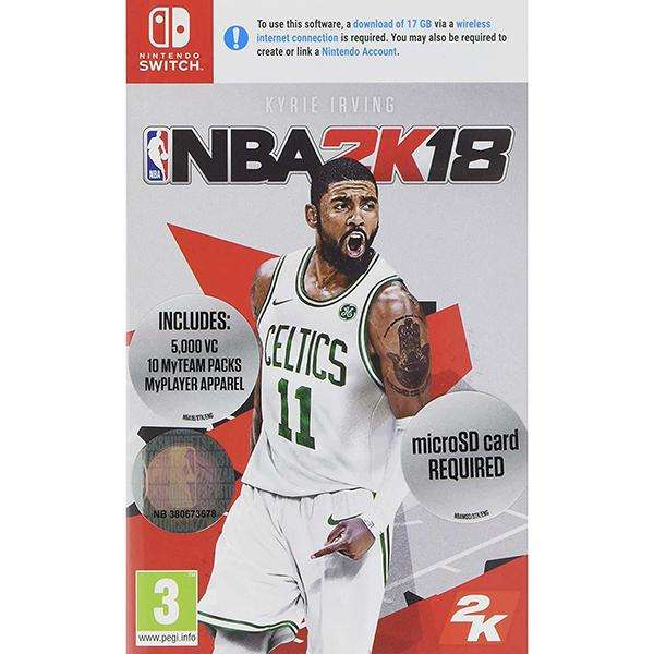 nba2k18 switch