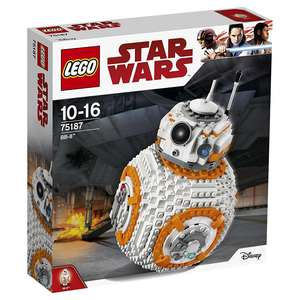 LEGO UK 75187 Star Wars Episode VIII BB-8 Set