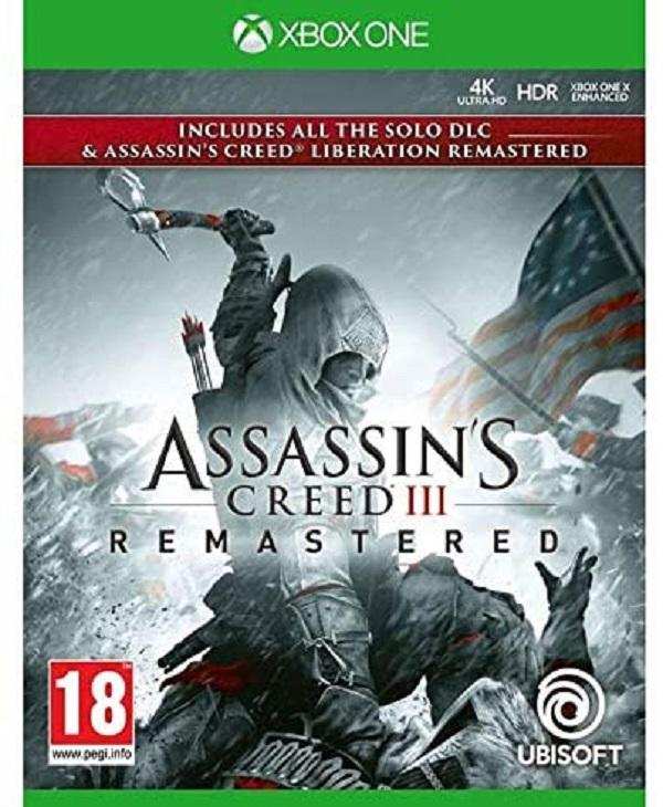 Assassin's Creed III 3 Remastered + Liberation & DLC Xbox One