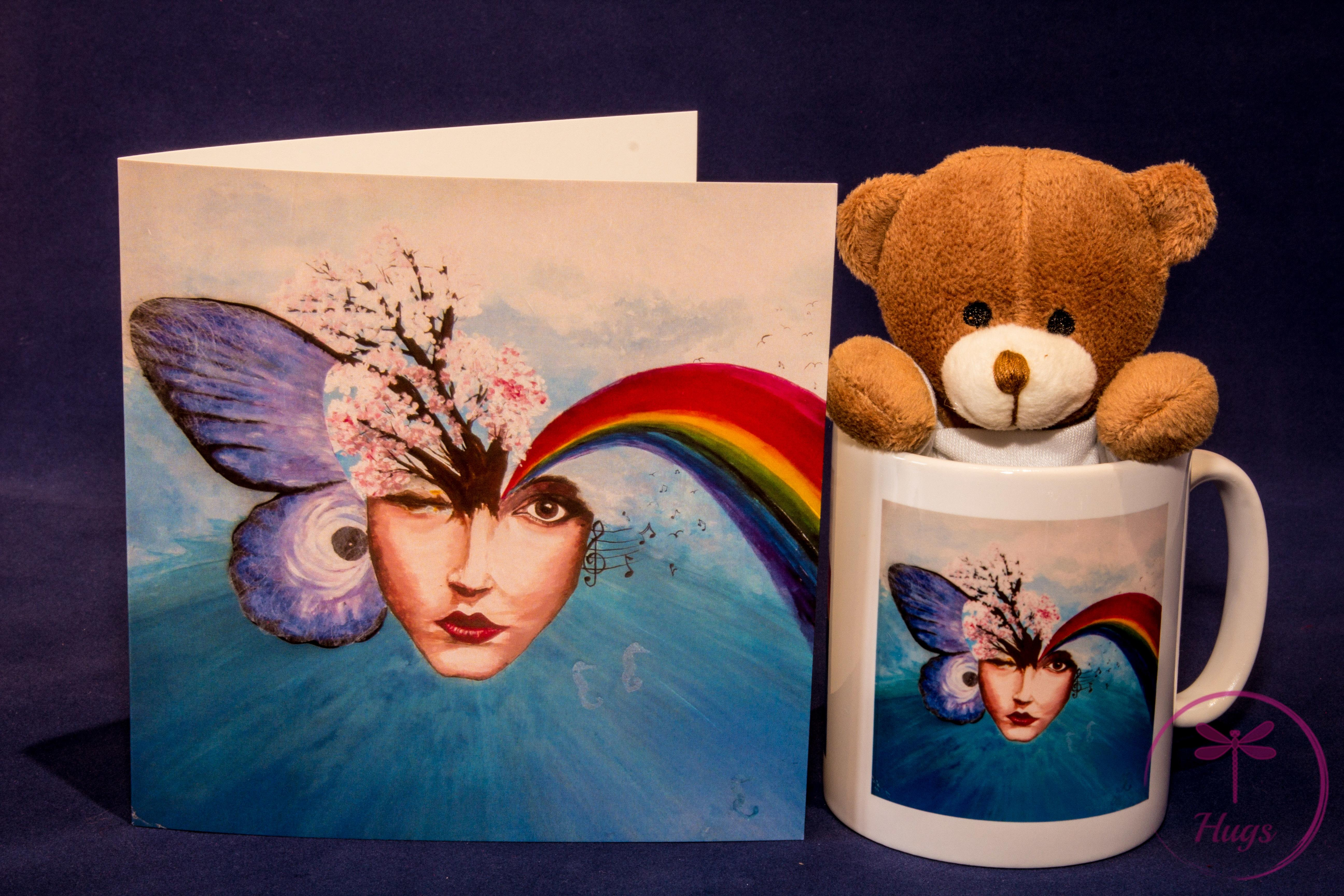 Empyreal Mug, Card and Branded Bear