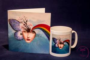 Mug and Greetings Card