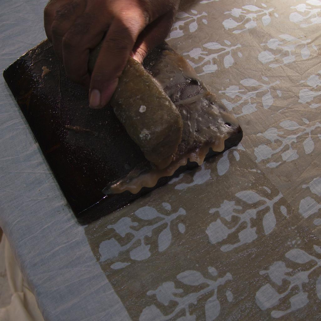 A New Range of Textiles - Block-Printed Batik