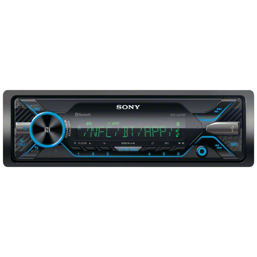 Sony DSX-A416BT bluetooth car stereo