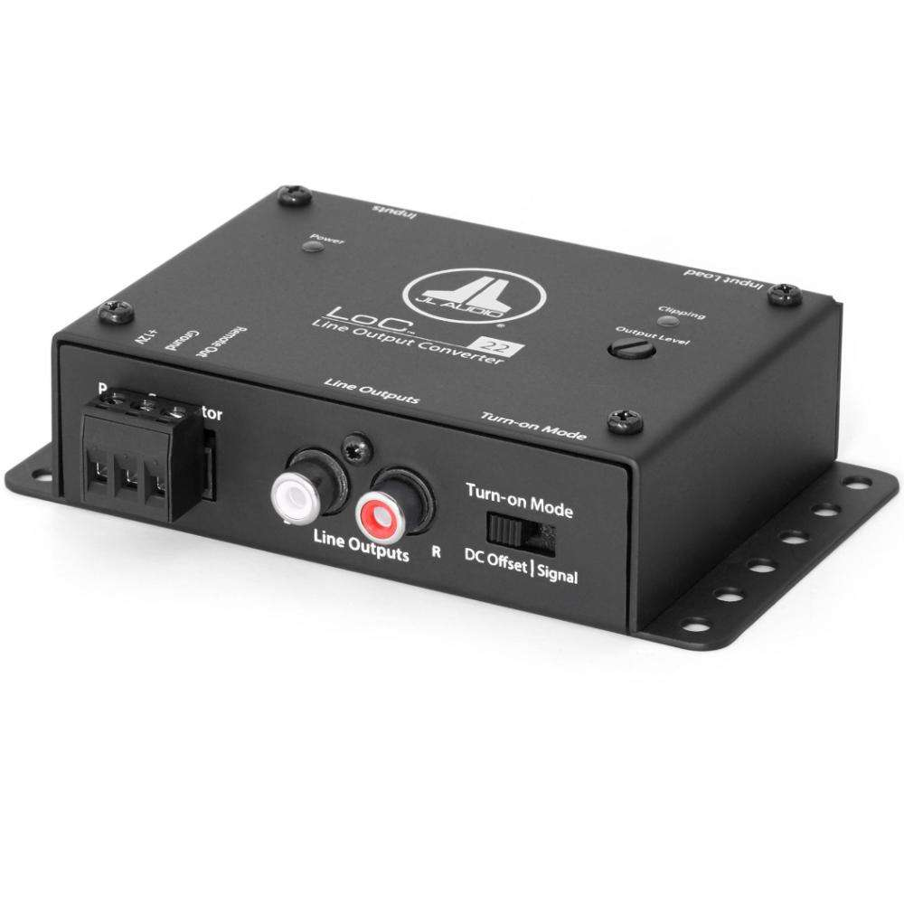 JL Audio LoC-22 Speaker Level to Line Output Converter with Auto Turn-On