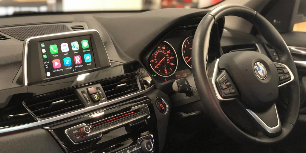 Retrofit Apple CarPlay Integration for BMW X1 2016