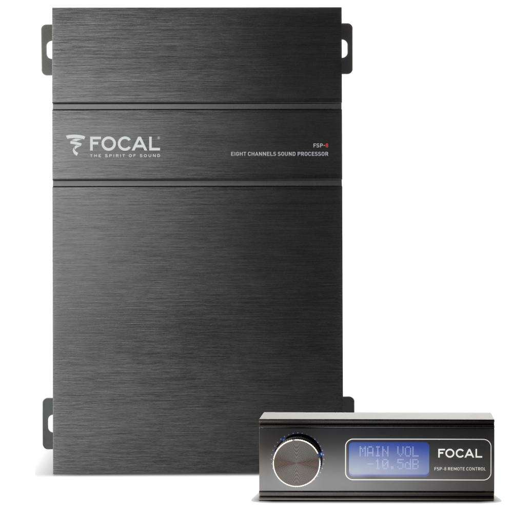 Focal FSP-8 DSP remote 8 Channel Digital Signal Processor