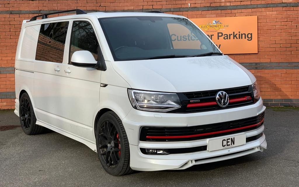 VW Volkswagen Transporter T6 Audison & Hertz Audio Upgrade