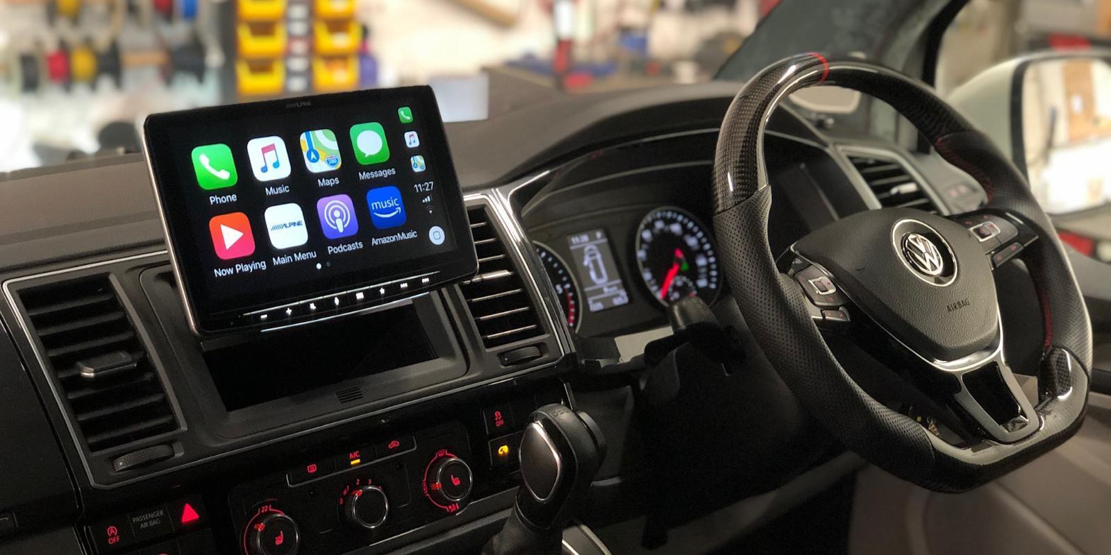Apple CarPlay Stereos and Retrofit Integration