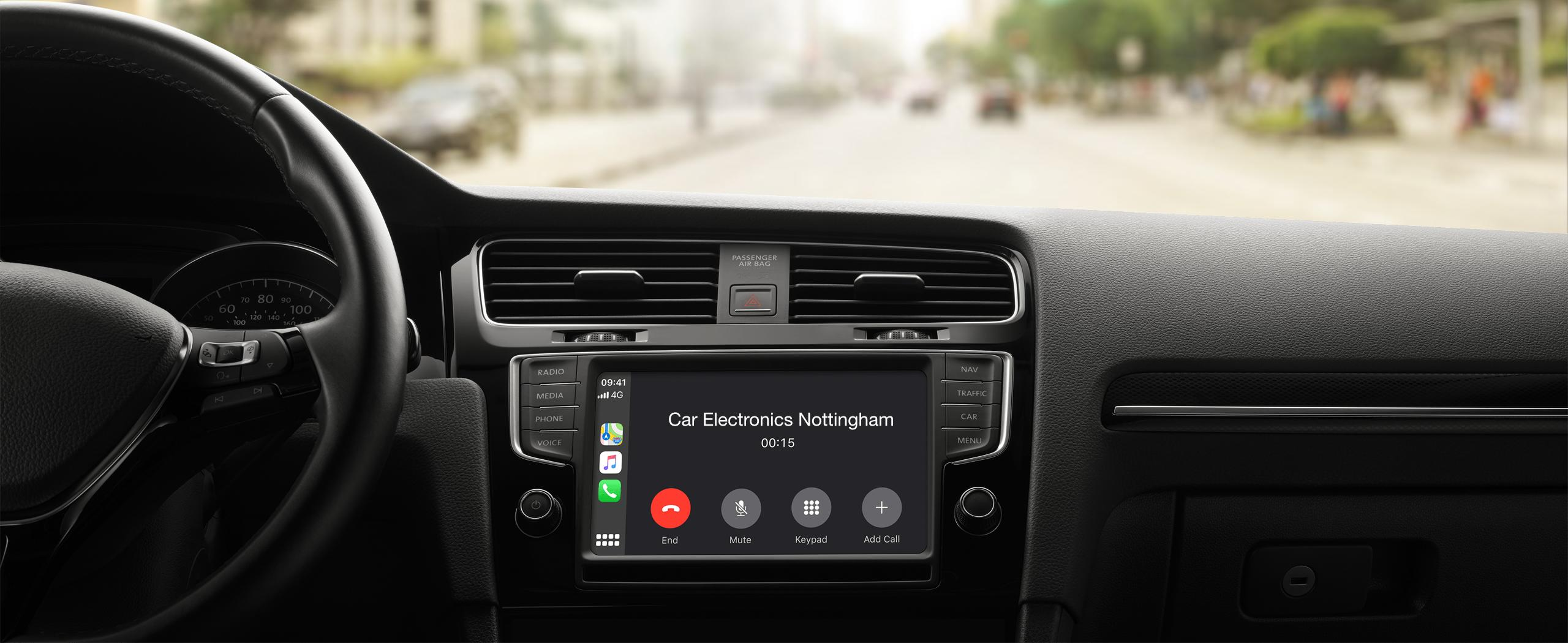 apple CarPlay upgrade audi bmw mercedes volkswagen porsche nottingham