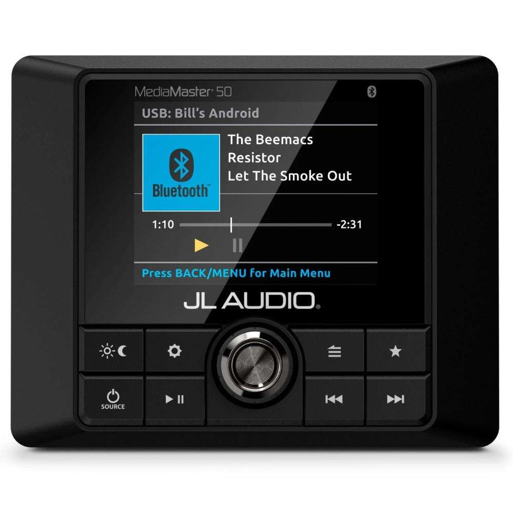 JL Audio MM50 bluetooth