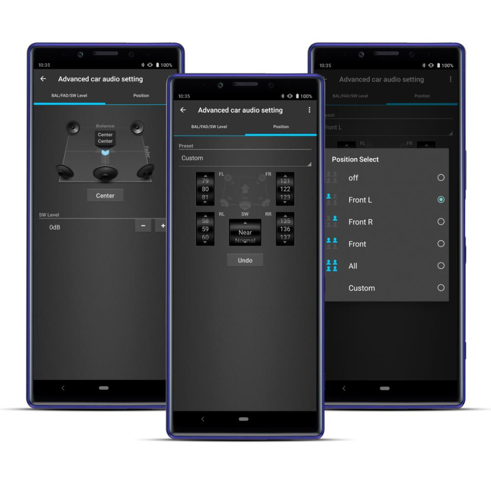 Sony DSX-GS80 car stereo app