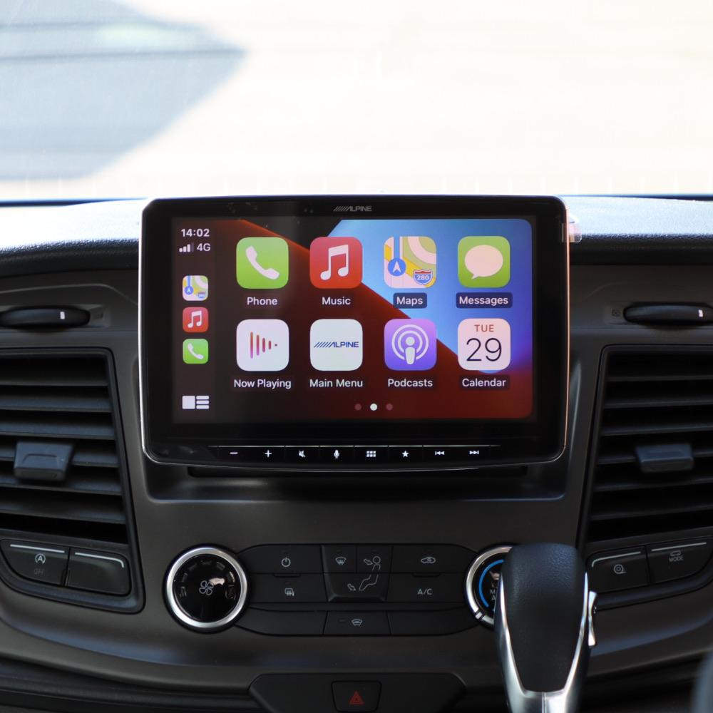 alpine ilx-f903d halo 9 apple CarPlay installed