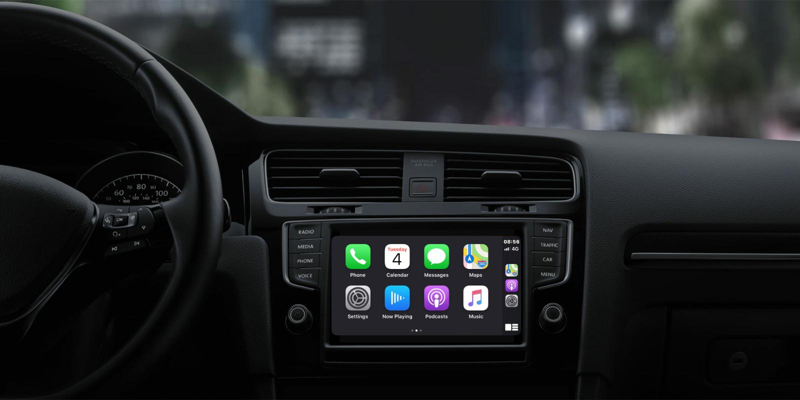 Apple CarPlay design refresh and new features iOS 13