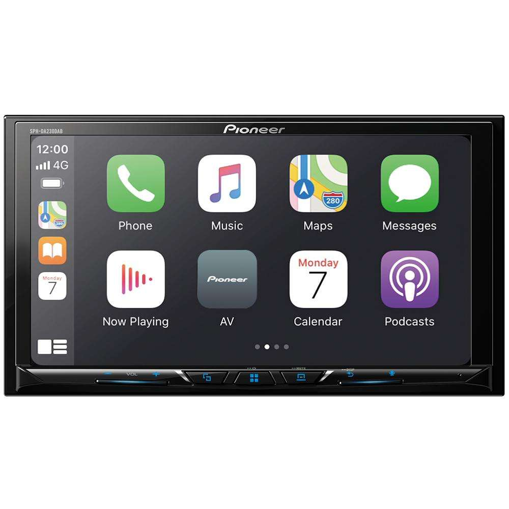 pioneer spa-da230dab apple CarPlay