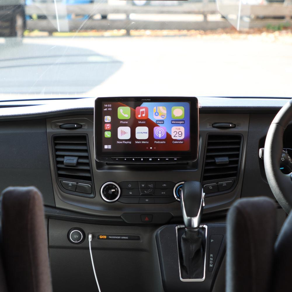alpine ilx-f903d halo 9 apple CarPlay installation