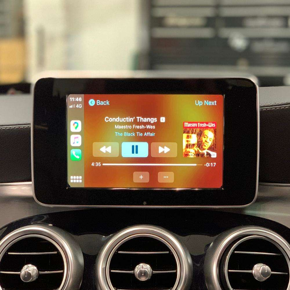 apple CarPlay mercedes NTG 4.5/4.7