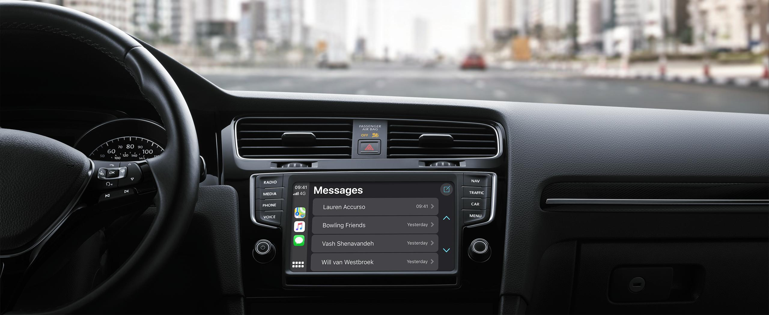 apple CarPlay upgrades for audi and bmw