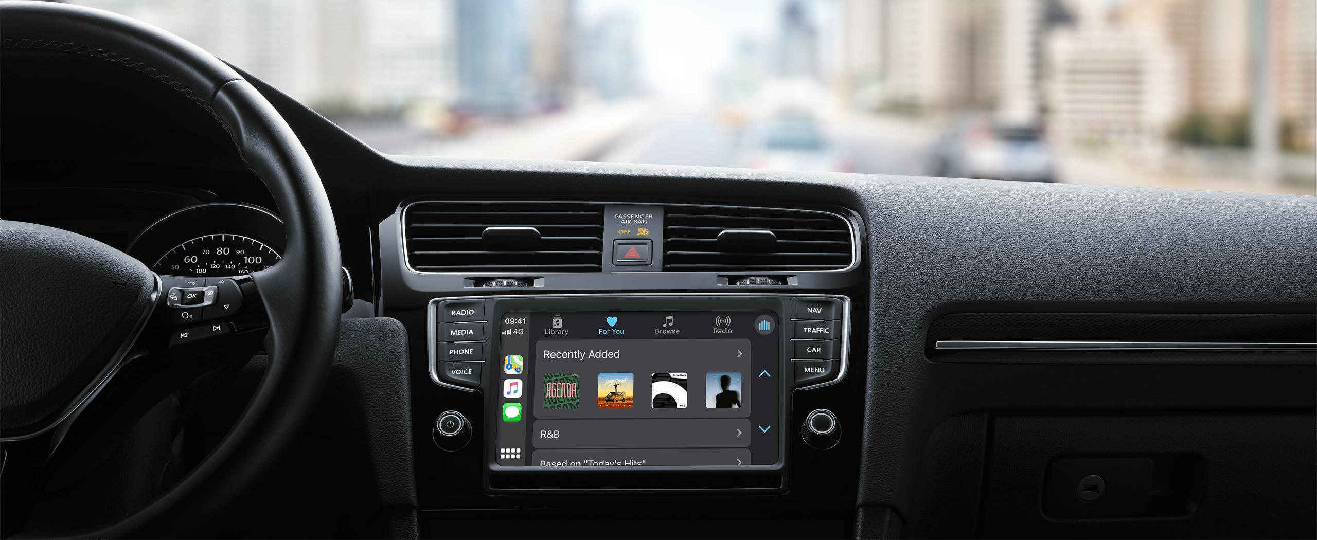 apple CarPlay music
