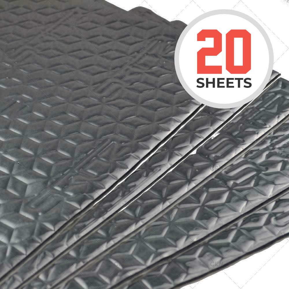 skinz sound proofing 20 sheets