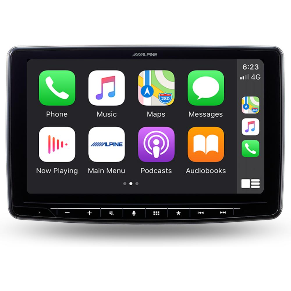 alpine ilx-f903d halo 9 apple CarPlay